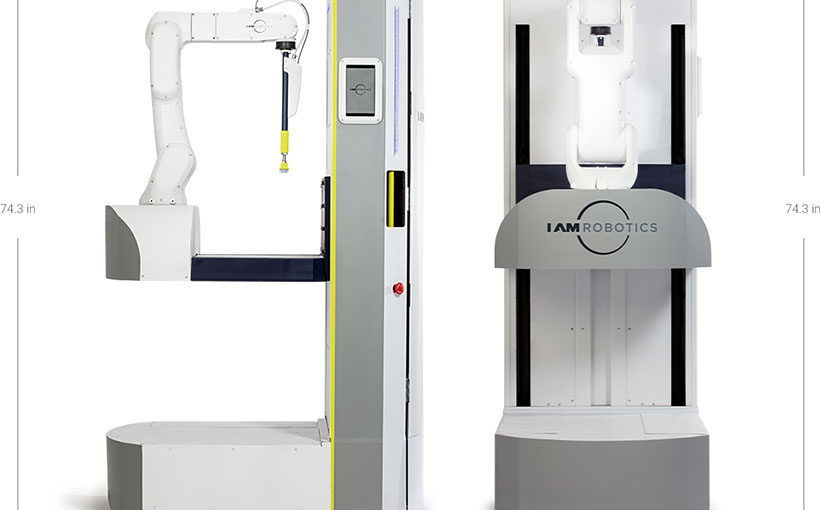 IAM Robotics awarded patent for warehouse robot
