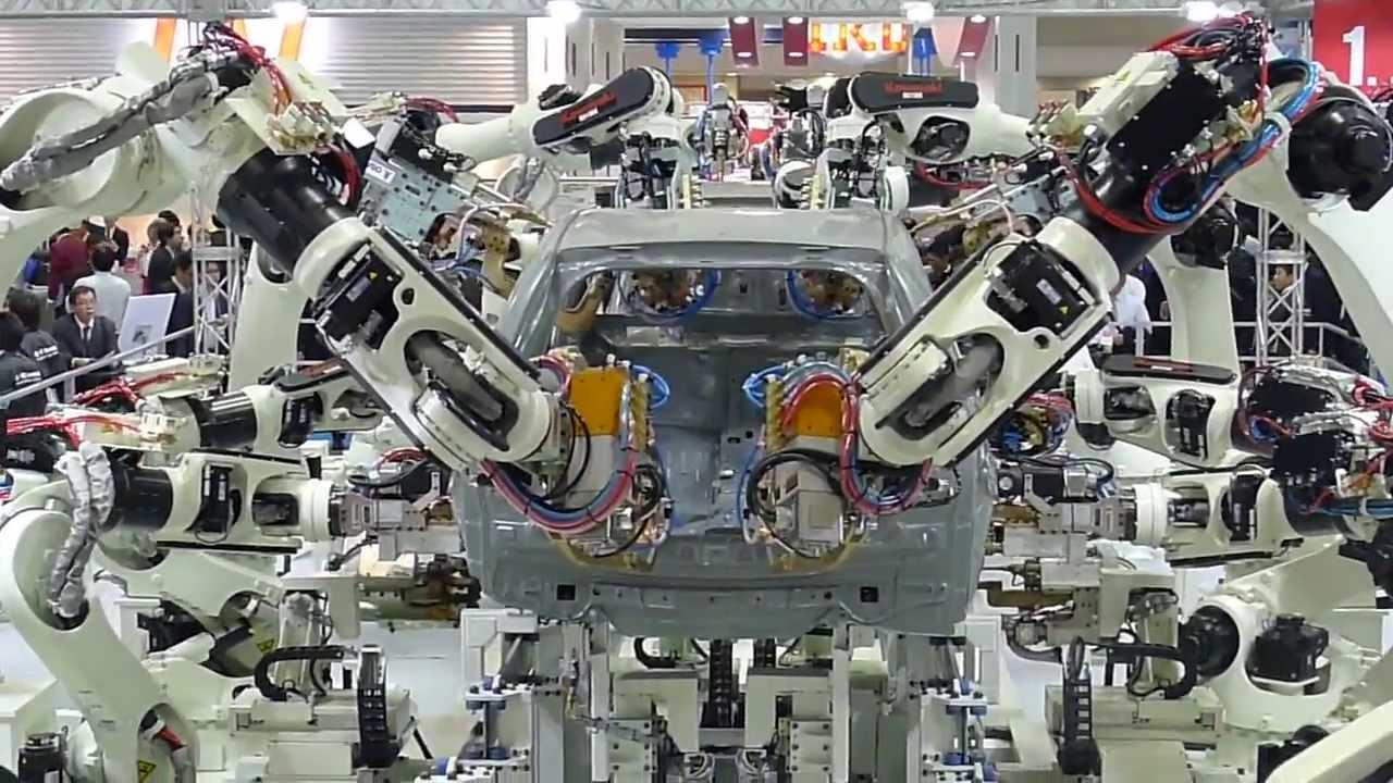 kawasaki robots automotive