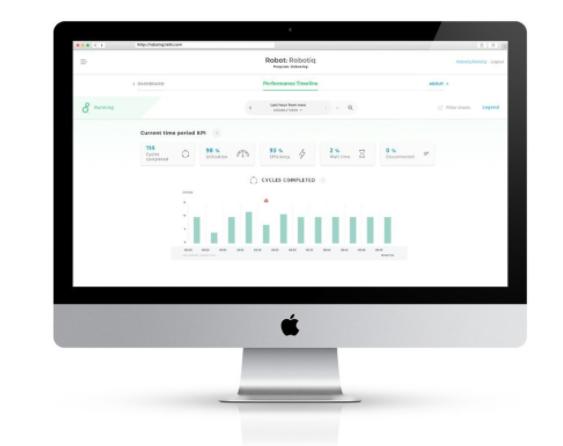 robotiq web app