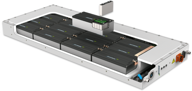 AkaSol shows next generation high-performance battery systems for e-buses