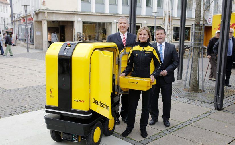 DHL tests PostBot autonomous vehicle for postal deliveries