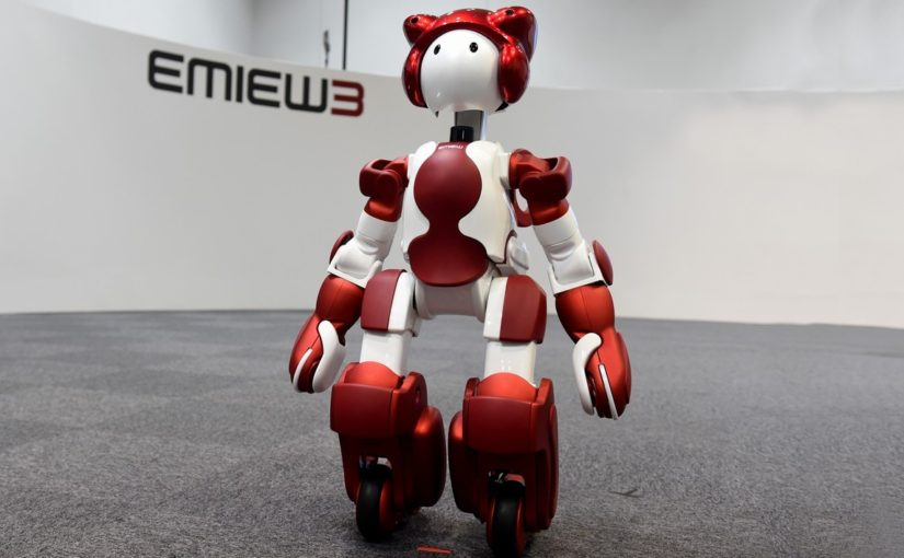 From the biggest to the smallest: Hitachi takes first nimble steps in robotics market