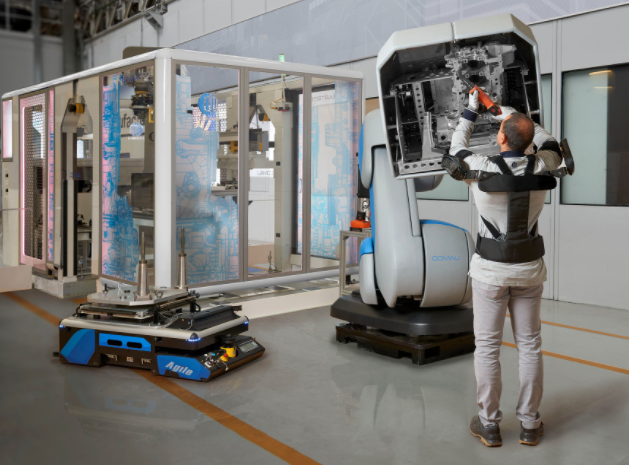 Comau and Össur invest in Iuvo to build exoskeletons for industry