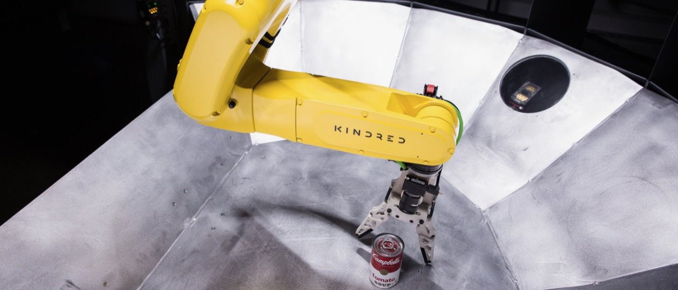 Kindred AI launches warehouse robots already in use by