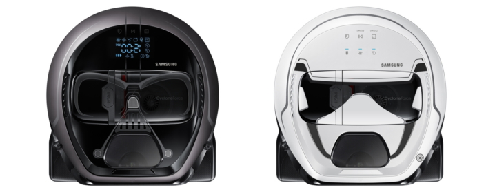 Samsung releases limited edition robotic vacuum cleaner that looks like Darth Vader