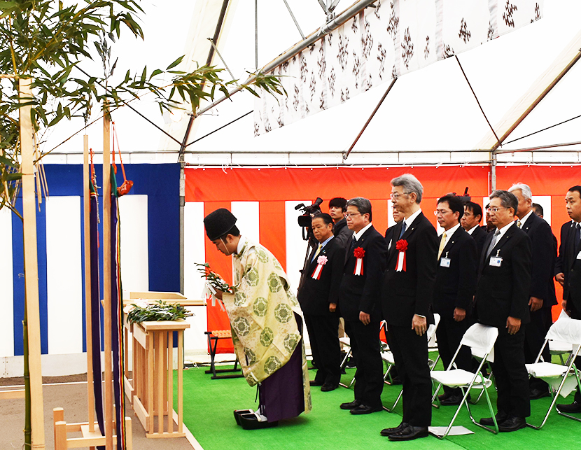 KYOCERA_Ground breaking ceremony small