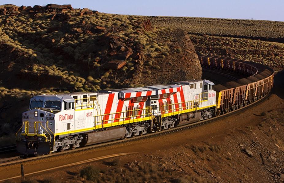 rio tinto autonomous freight train