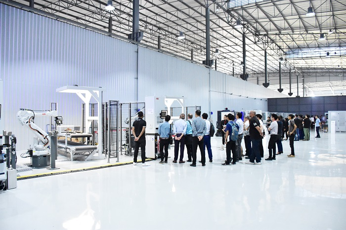 abb robotics facility thailand