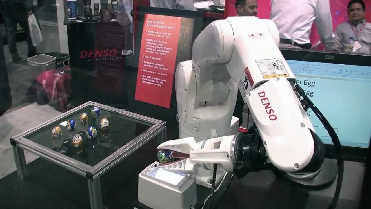 denso robotics at event