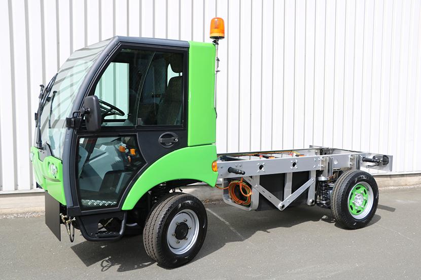 electric Municipal_Vehicle