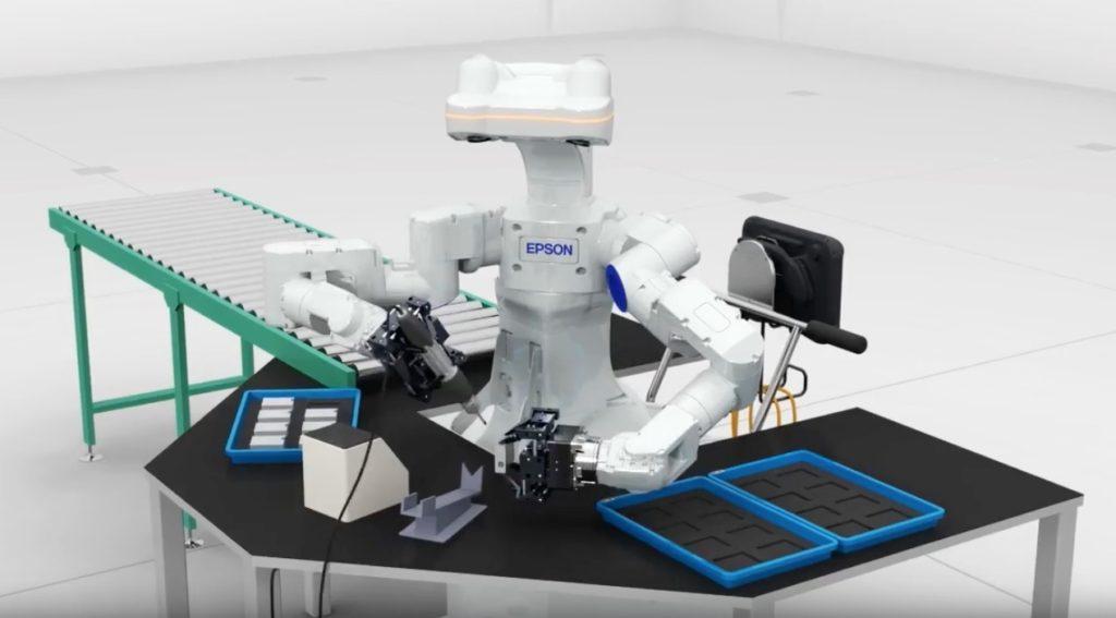epson worksense robot 2
