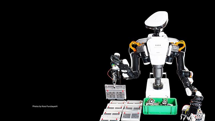 kawada nextage robot small