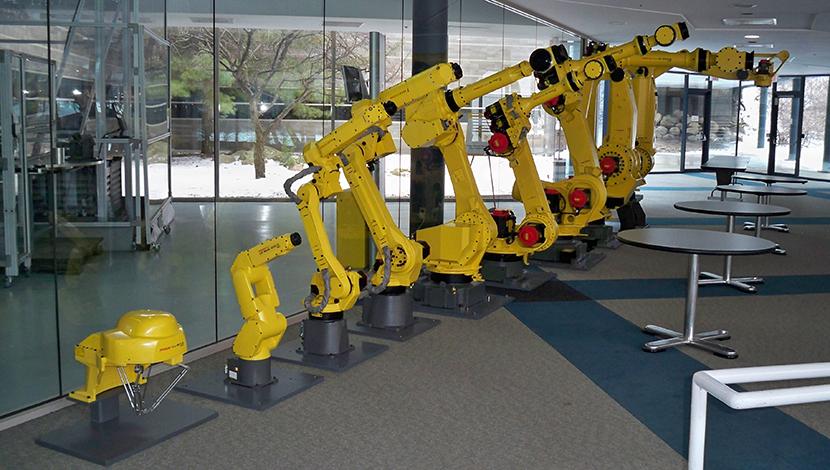 fanuc robots small