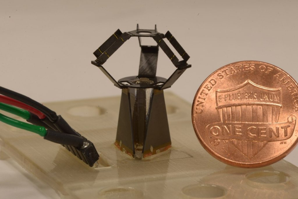 Harvard milliDelta robot
