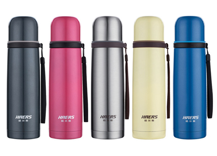 Haers-500ml-Thermal-Cup-Stainless-Steel-Vacuum-Flask-Tumbler-Water-Bottle-Cup crop