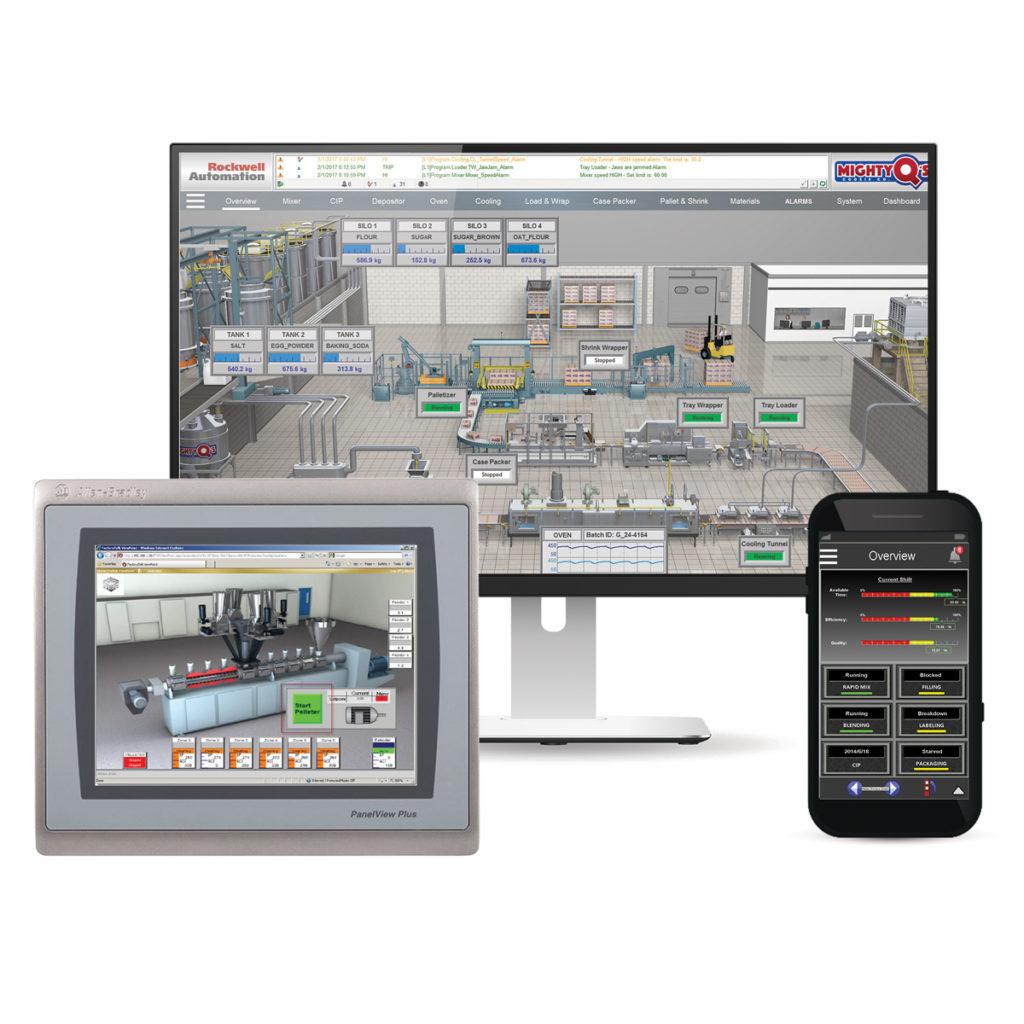 rockwell FactoryTalk hmi software