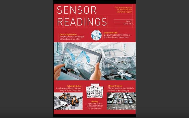 sensor readings march 2018