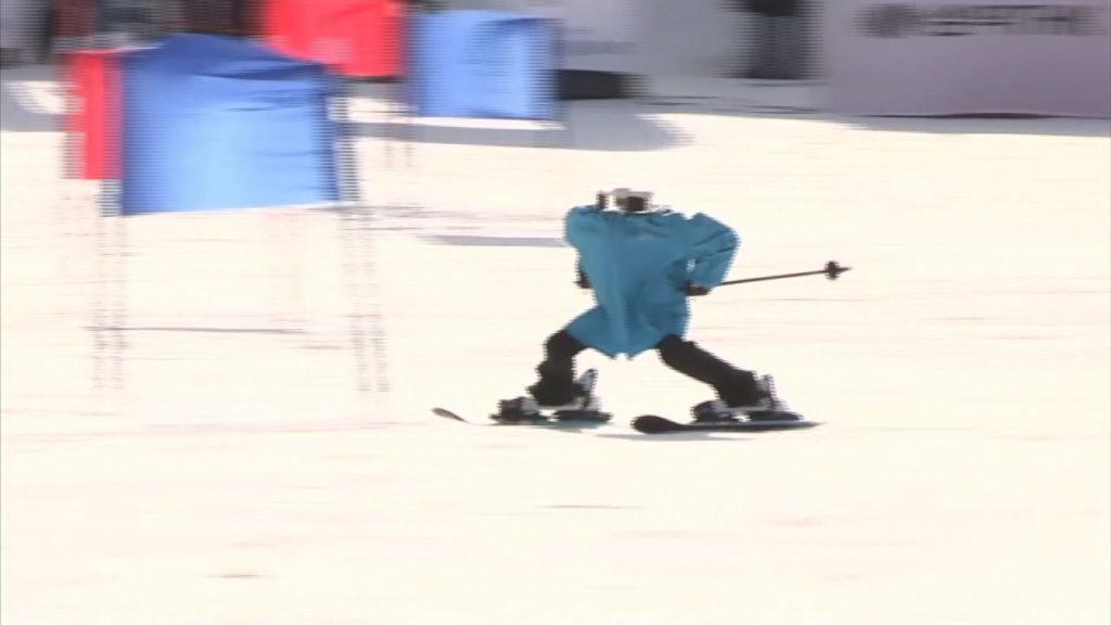 skiing robot south korea
