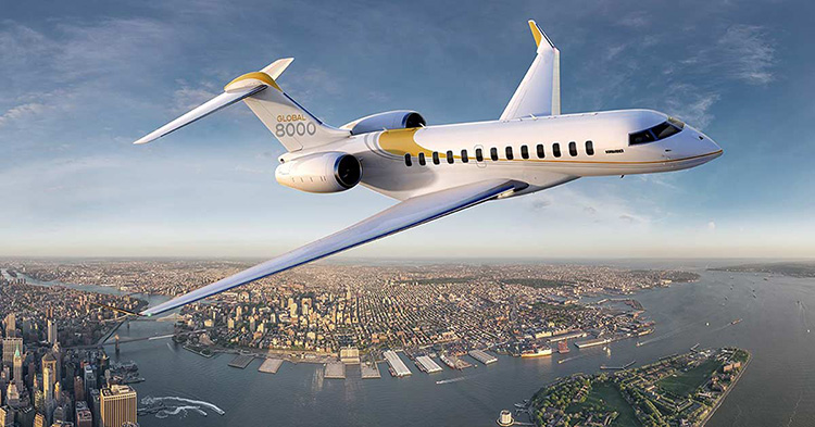 bombardier aircraft design smaller