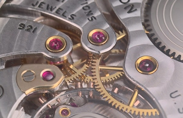 jewels in watches