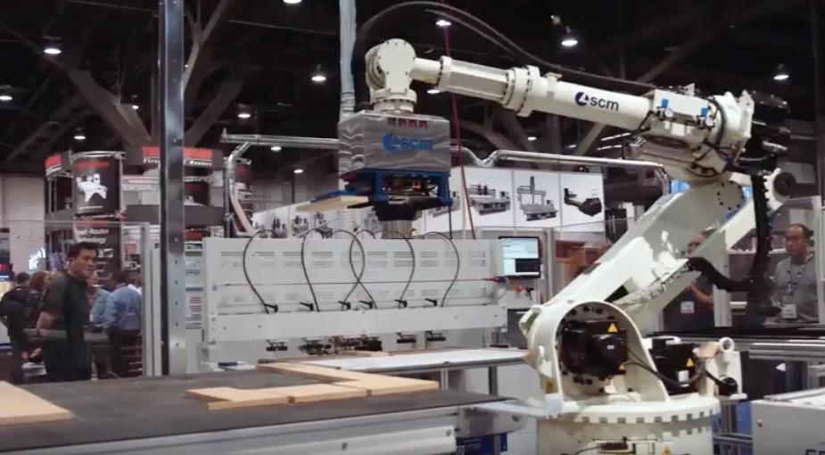 scm robot woodwork