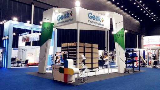 geek plus asia warehousing show