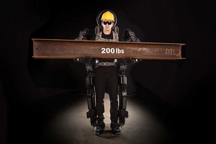 The Sarcos XO exoskeleton