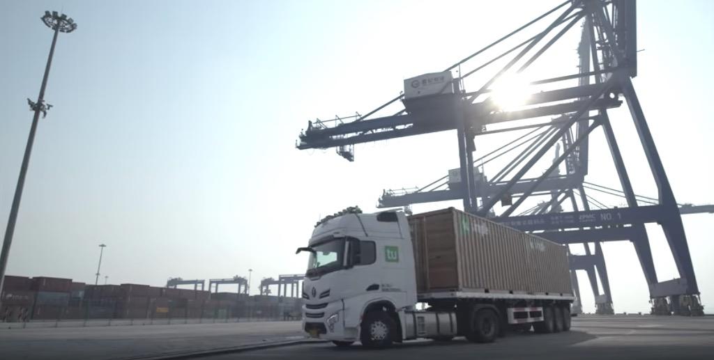 tusimple autonomous truck 2