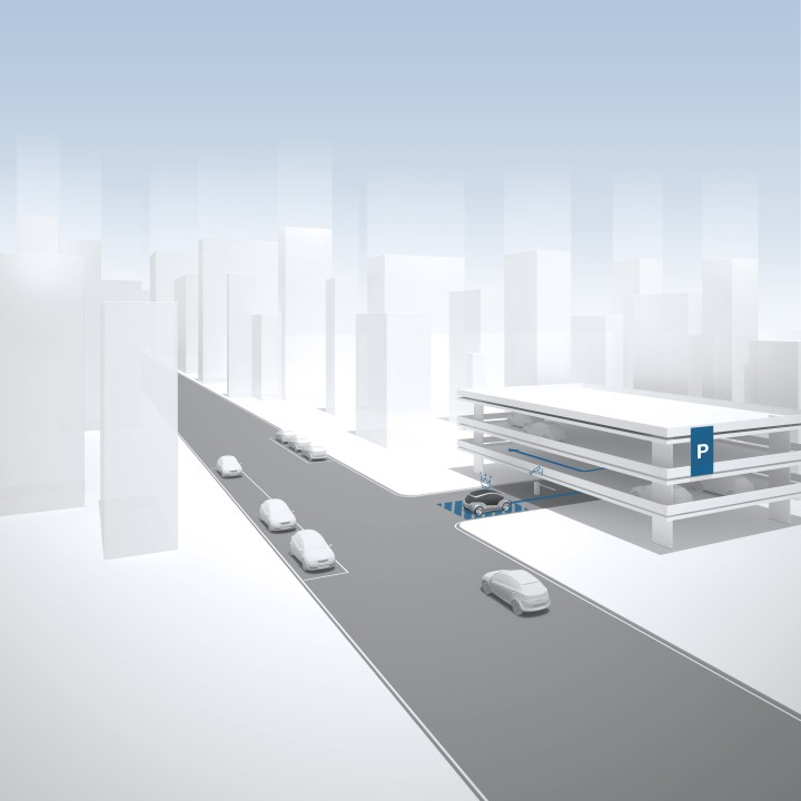 bosch eGo automated parking 3