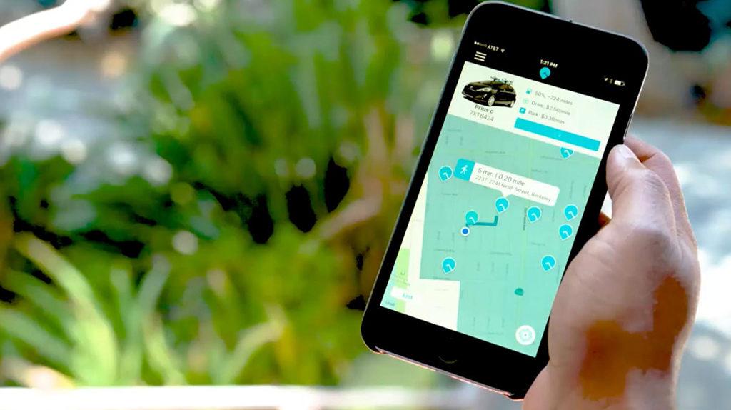 ridecell smartphone app small