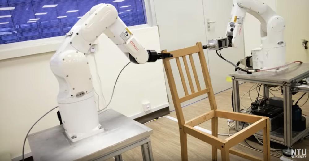 singapore uni ikea robots