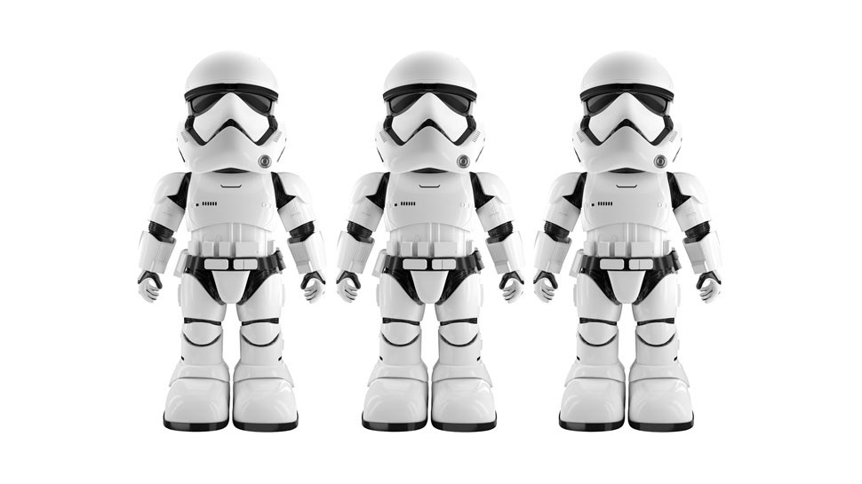 ubtech Star-Wars-First-Order-Stormtrooper