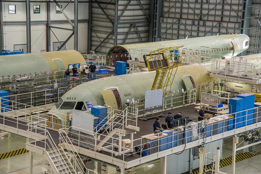 Airbus US Manufacturing Facility Mobile Alabama small