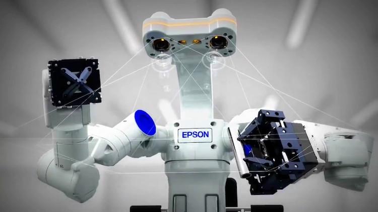 epson worksense dual-arm robot copy