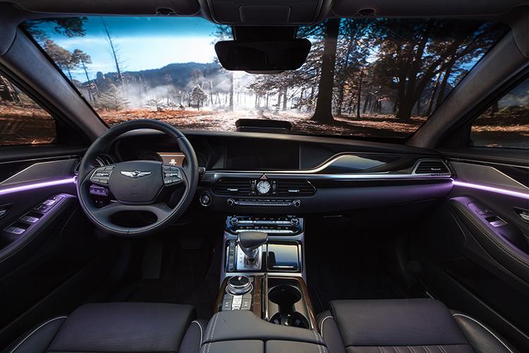 harman car interior small