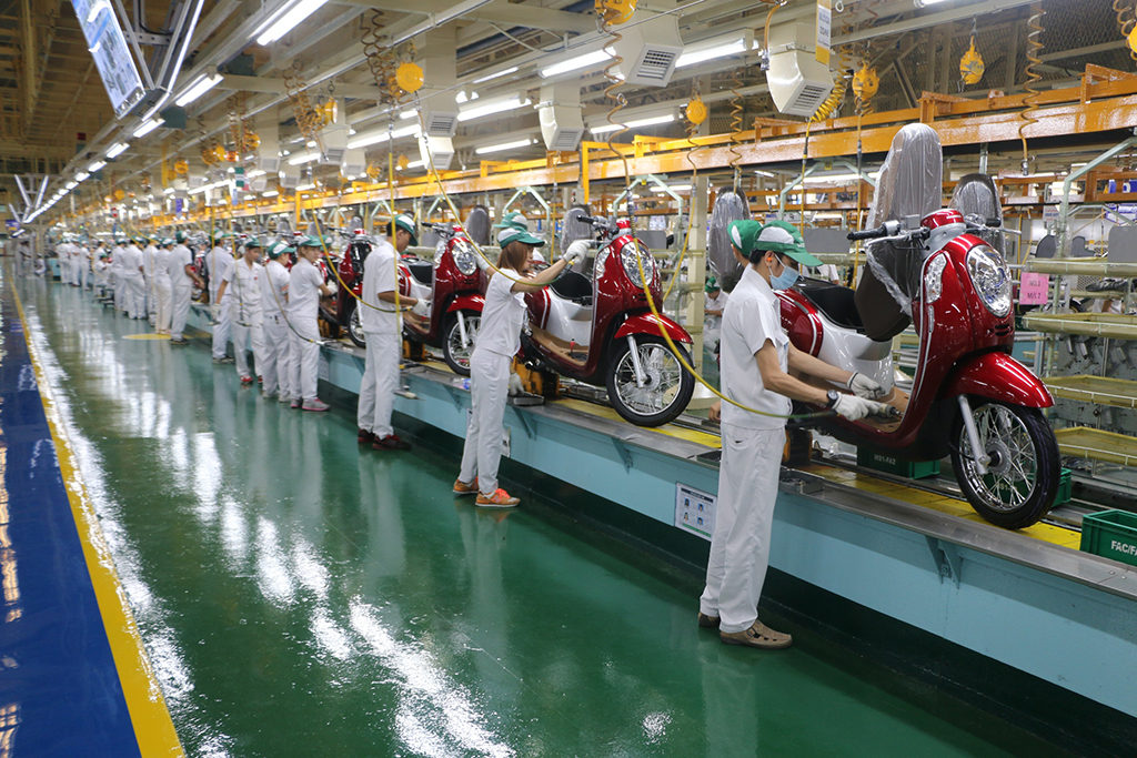 honda-motorcycle-production in thailand small