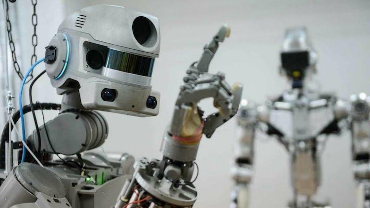 fedor humanoid robot astronaut copy