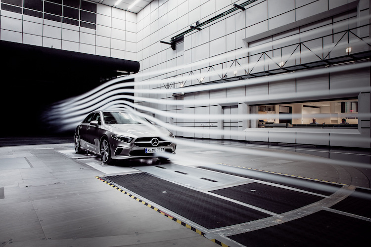 Aerodynamic world record for the A-Class Sedan