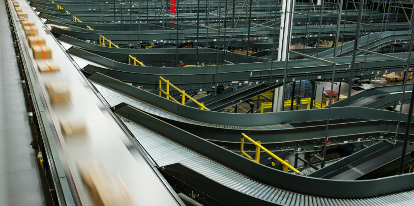 Intelligrated conveyor