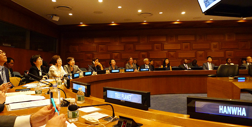 hanwha at the un
