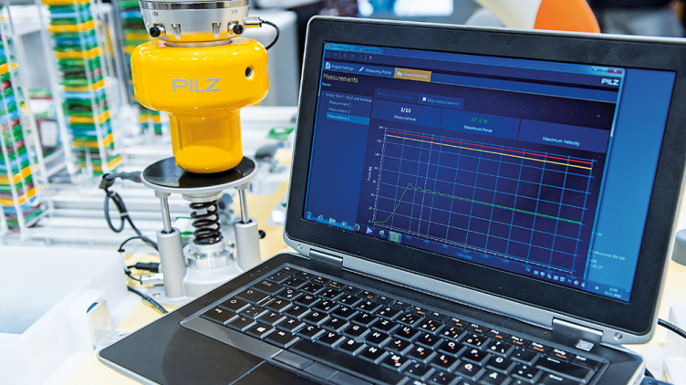 pilz robot measurement system