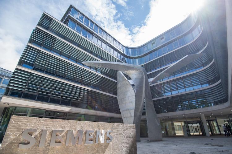new Siemens headquarters building