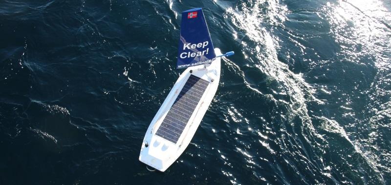 offshore sensing sailbuoy vessel