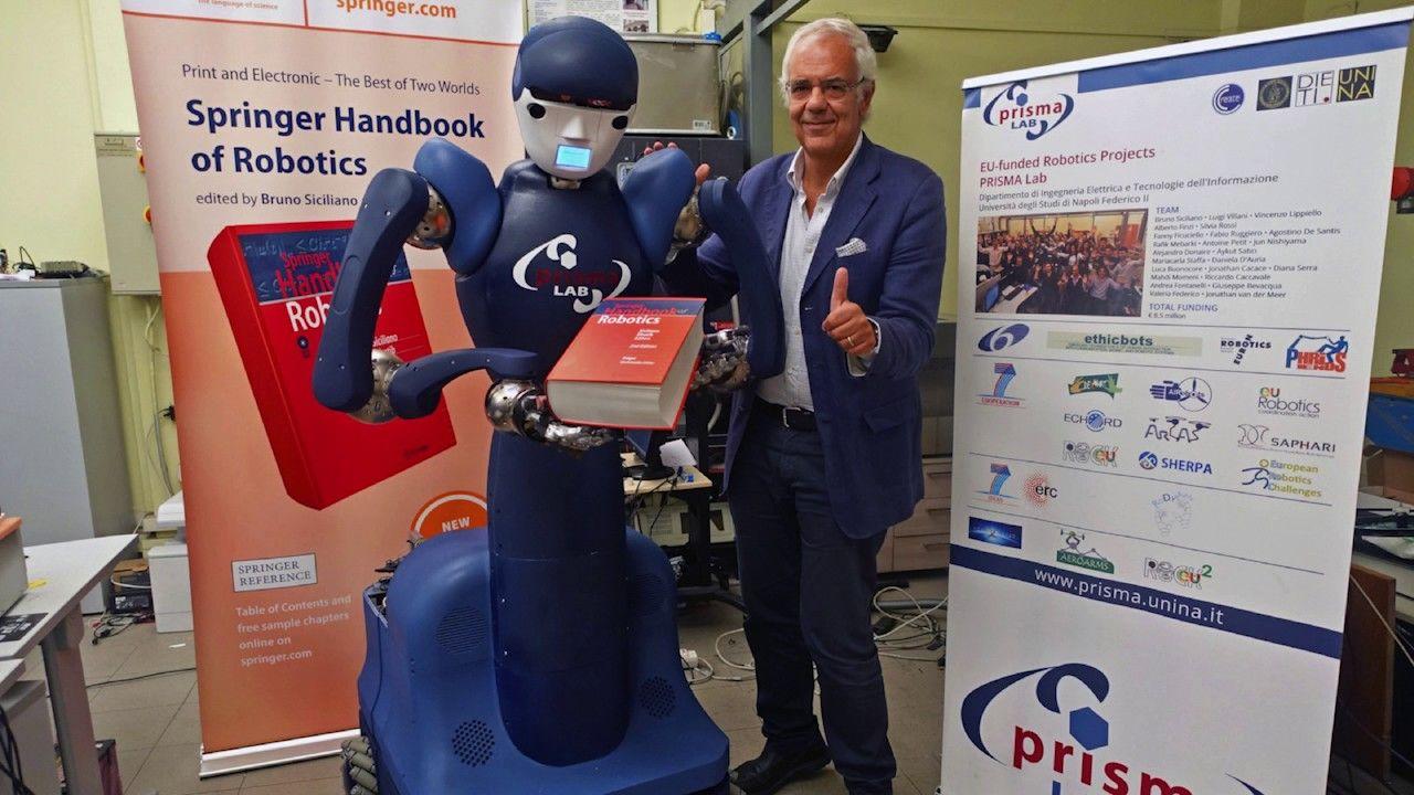 springer image man and robot