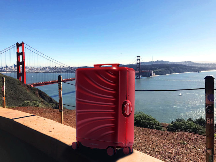 ROVER SPEED AI-powered Autonomous Driving Suitcase