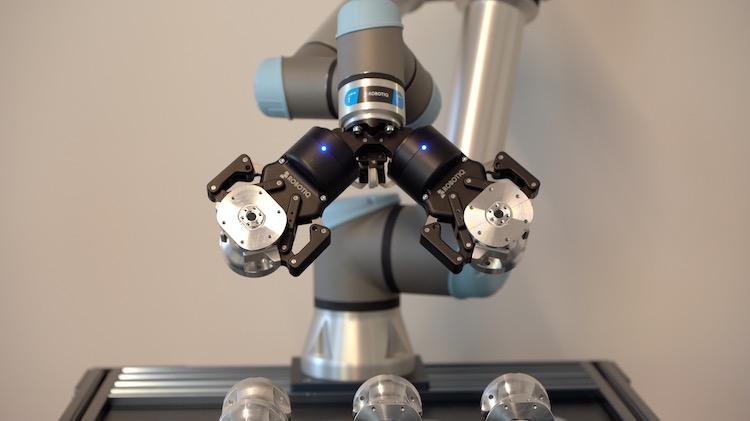 robotiq 2F-85 Dual Gripper Machine tending copy