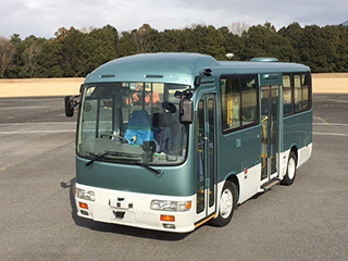 Kyocera_Experimental self-driving bus