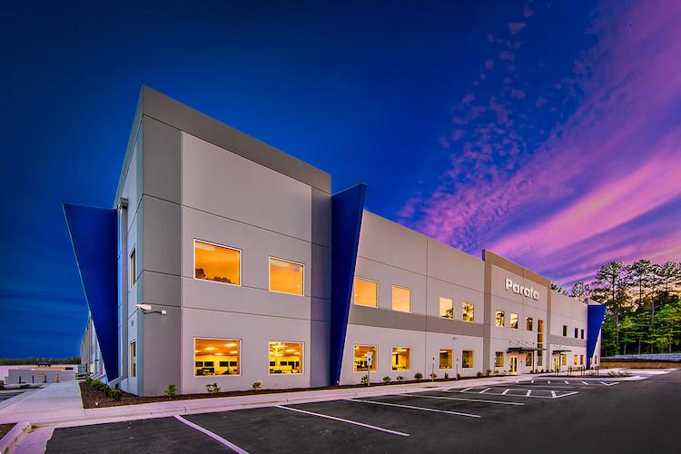 Parata headquarters in Durham, North Carolina.