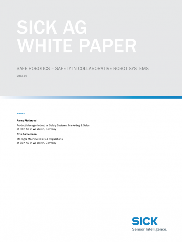 sick safe robotics whitepaper cover