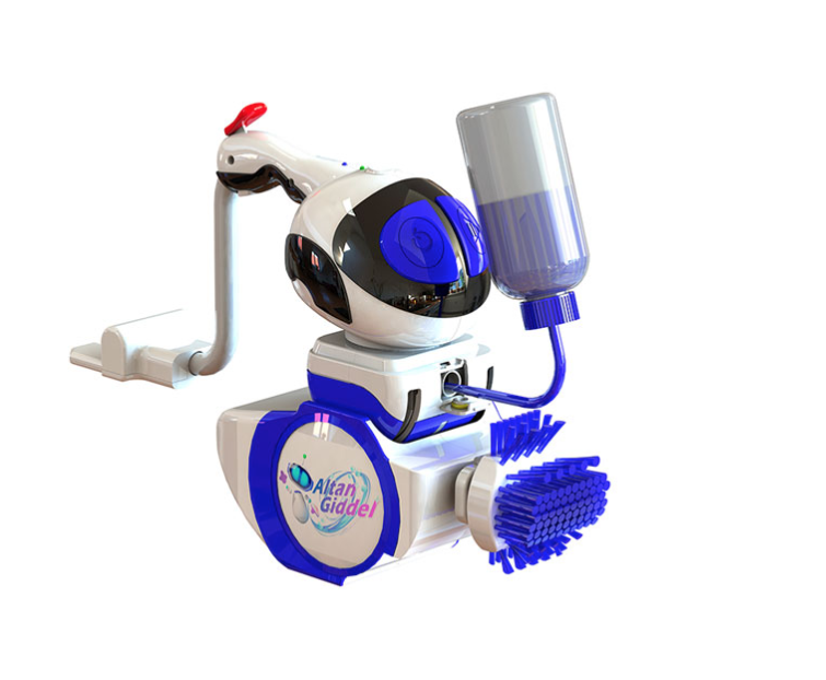 altan toilet robot